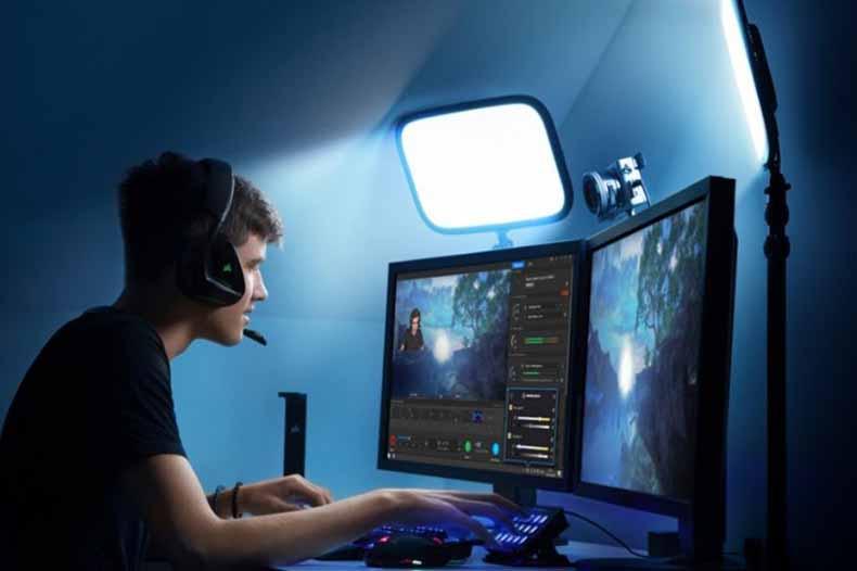 Gamer Steam online
